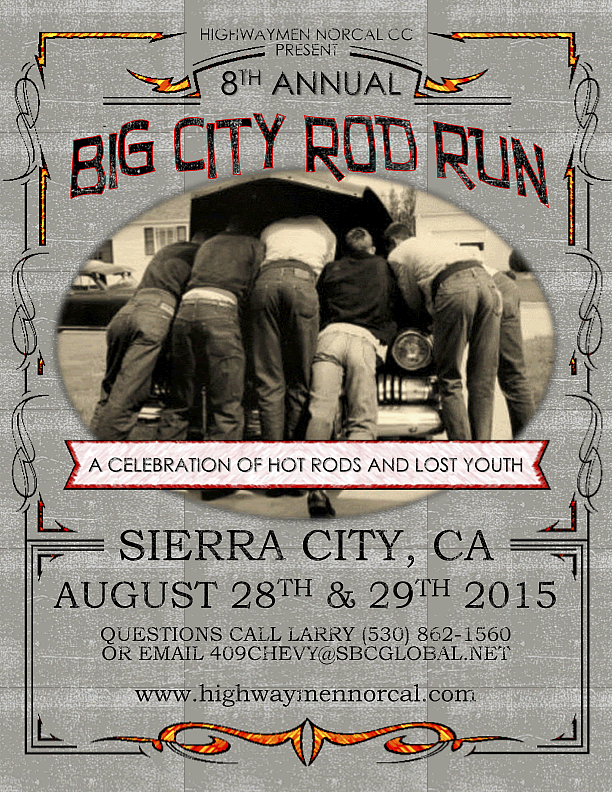 2015 Big City Rod Run